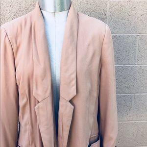 Lauren Conrad blush cantaloupe blazer